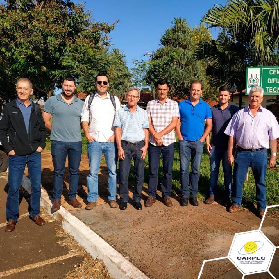 Visita no  Instituto Agronômico do Paraná - IAPAR