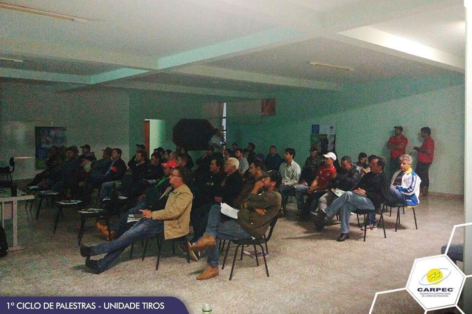 1º ciclo de palestras CARPEC Unidade Tiros