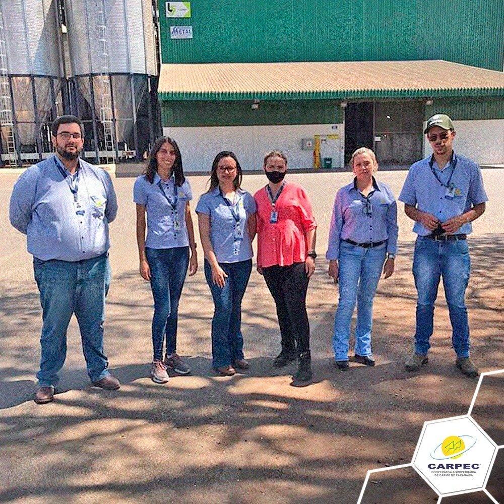 Setor de contabilidade da CARPEC realiza visitas ao armazém CARPEC Coffee, à Unidade CARPEC em Tiros-MG e  Fábrica de Rações CARPEC.