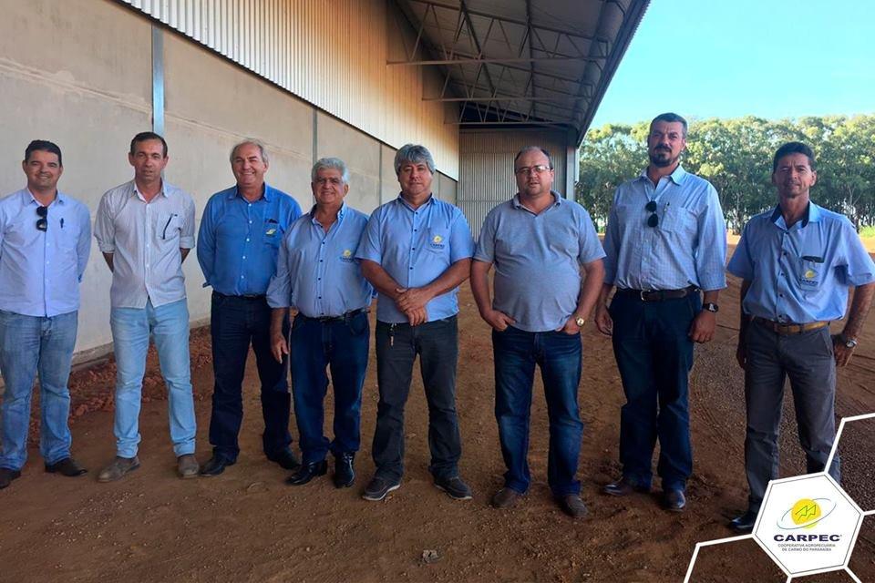 Visita dos representantes da COOPERTINGA - Cooperativa Agropecuária da Região do Piritinga