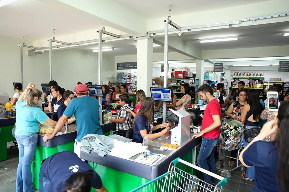 Reinauguração Supermercado CARPEC