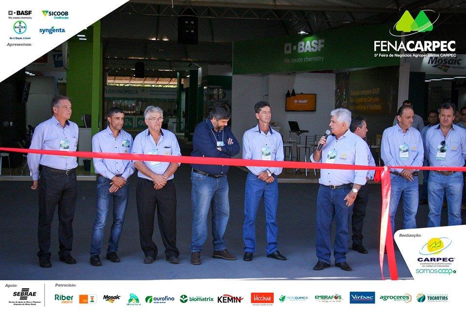 5ª edição FENACARPEC - Feira de Negócios Agropecuários da CARPEC