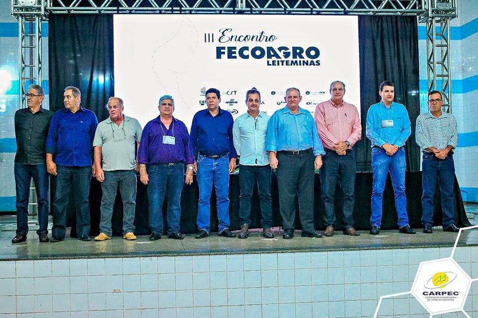 III Encontro FECOAGRO Leite Minas