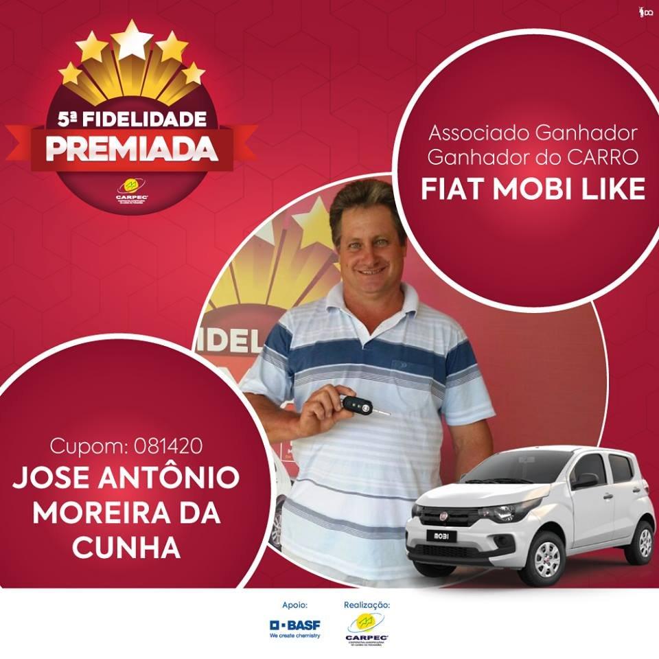 GANHADORES 5° CAMPANHA FIDELIDADE PREMIADA CARPEC