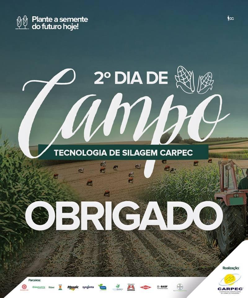 2º Dia de Campo em Tecnologia de Silagem CARPEC