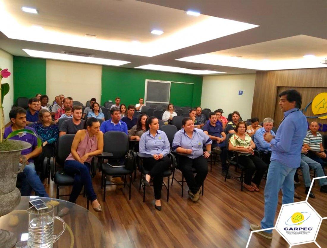 Reunião de sensibilização- Assistência Técnica e Gerencial (ATeG)