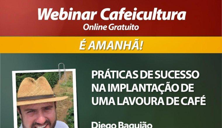 WEBINAR CAFEICULTURA É AMANHÃ!