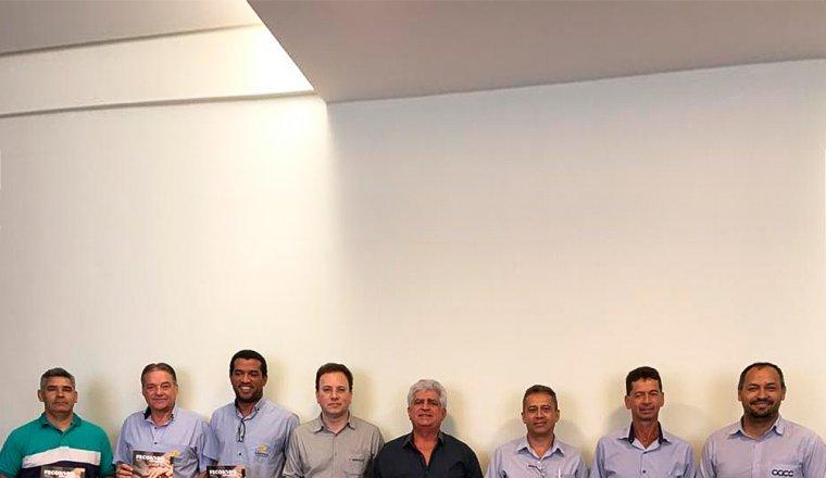 Visita do CCGC  Consórcio Central Grupo  Cooperativo